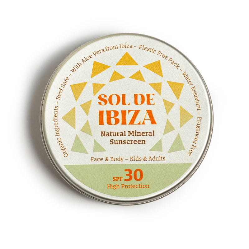 Vegan Organic Natural Sun Cream SPF30