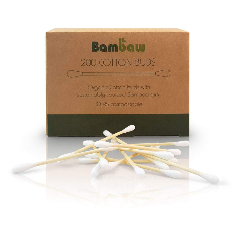 200 Bamboo Cotton Buds