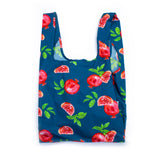 100% Recycled Reusable Tote Bag - Pomegranate
