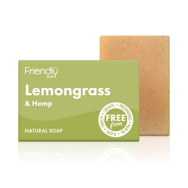 Lemongrass & Hemp Soap Bar
