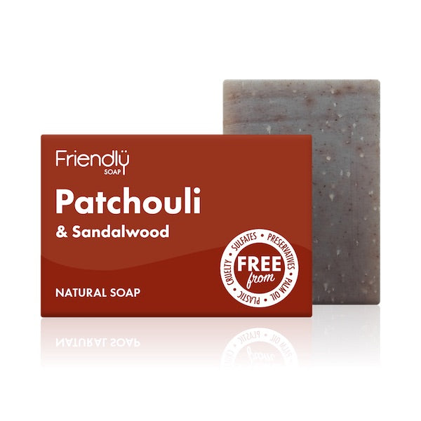 Patchouli & Sandalwood Soap Bar