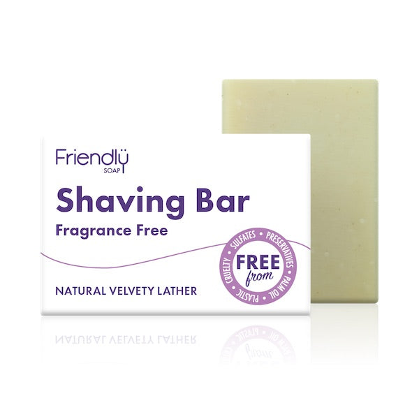 Shaving Soap Bar - Fragrance Free