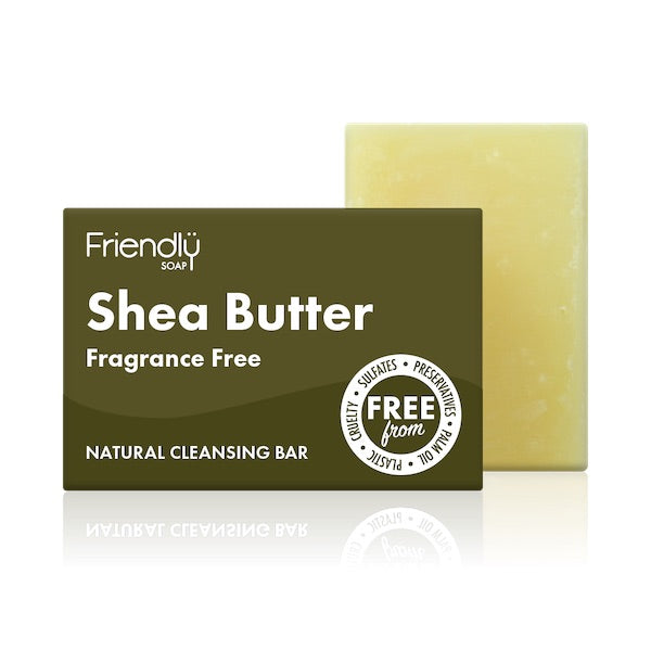 Shea Butter Cleansing Soap Bar