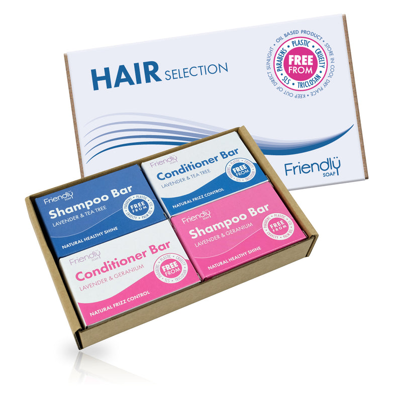 Hair Selection Soap Set - Conditioner & Shampoo Bars