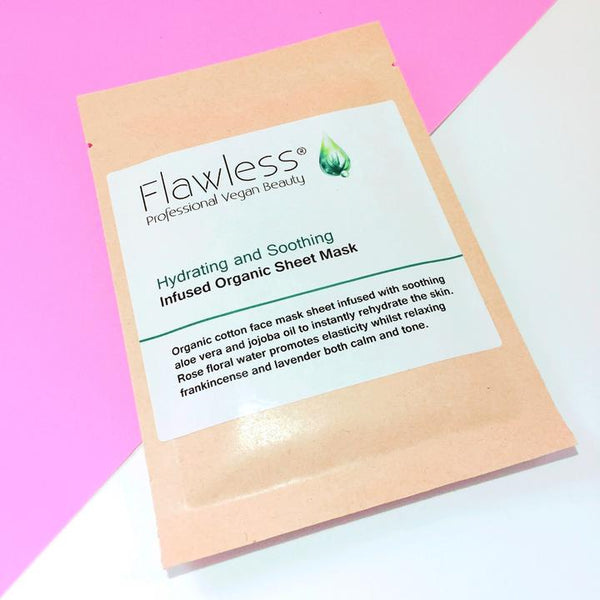Rose & Frankincense Hydrating and Soothing Facial Sheet Mask