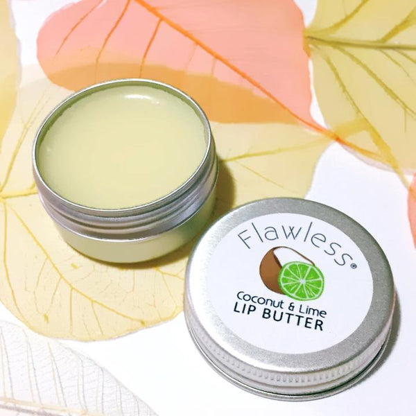 Vegan Coconut and Lime Nourishing Lip Butter