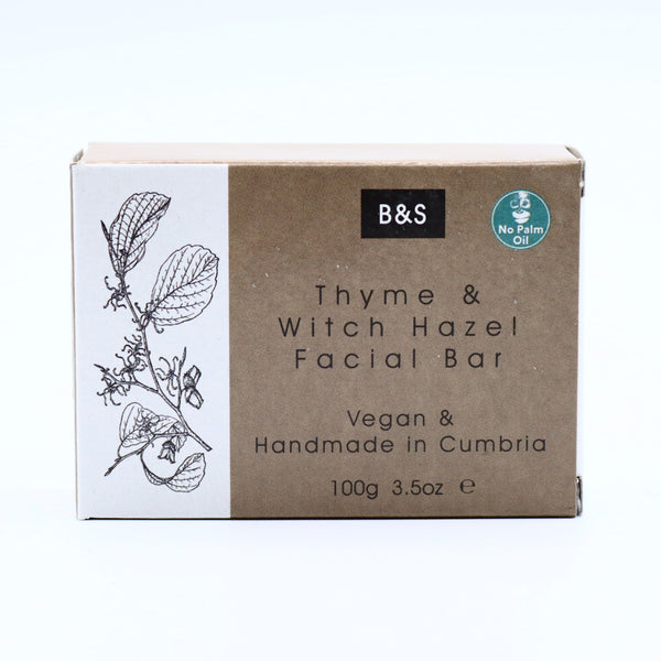 Thyme & Witch Hazel Facial Soap Bar