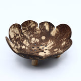 Coconut Shell Soap Dish- Leaf
