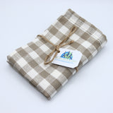 Natural organic linen storage bag