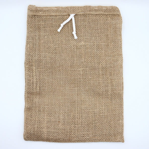 Natural Jute Storage Sack Produce Bag