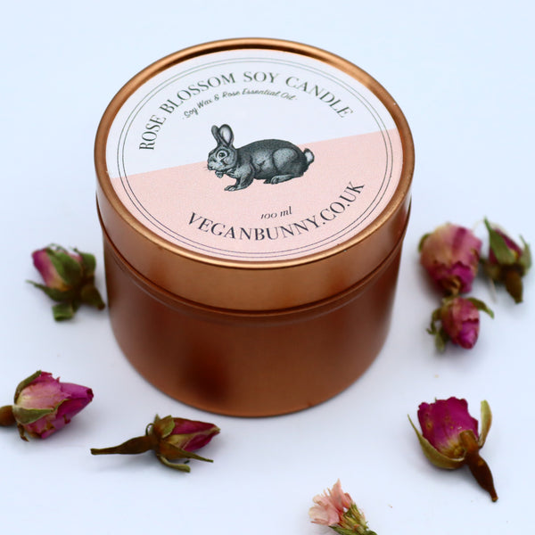 Rose Blossom Soy Candle