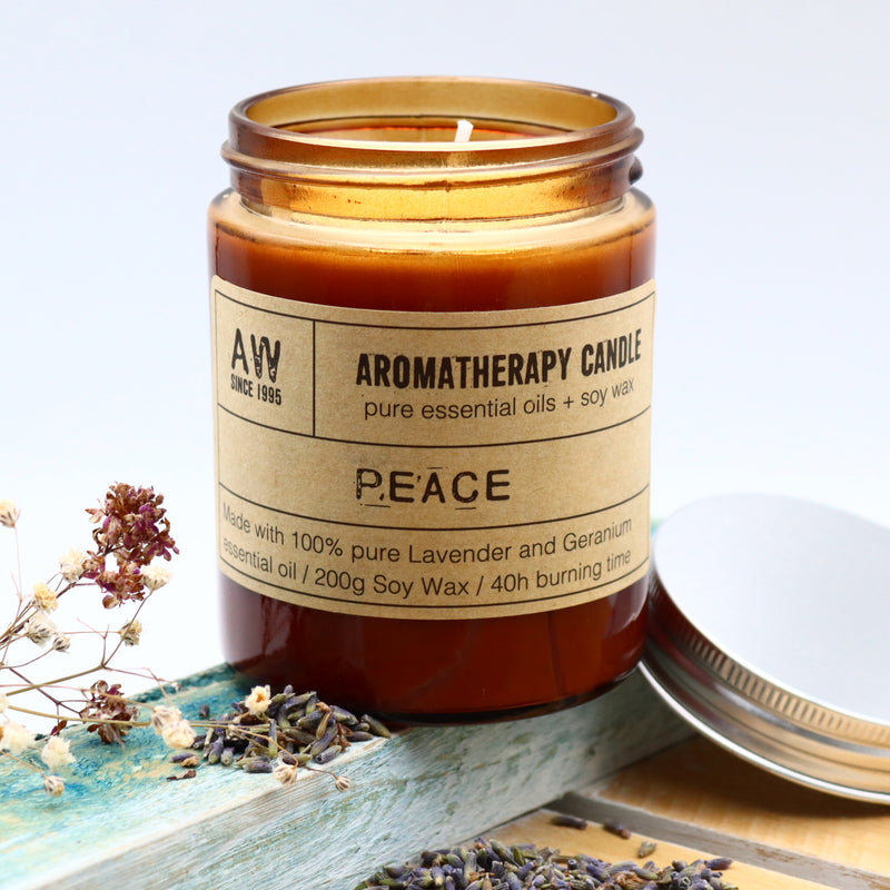 Aromatherapy Soy Candle - Peace