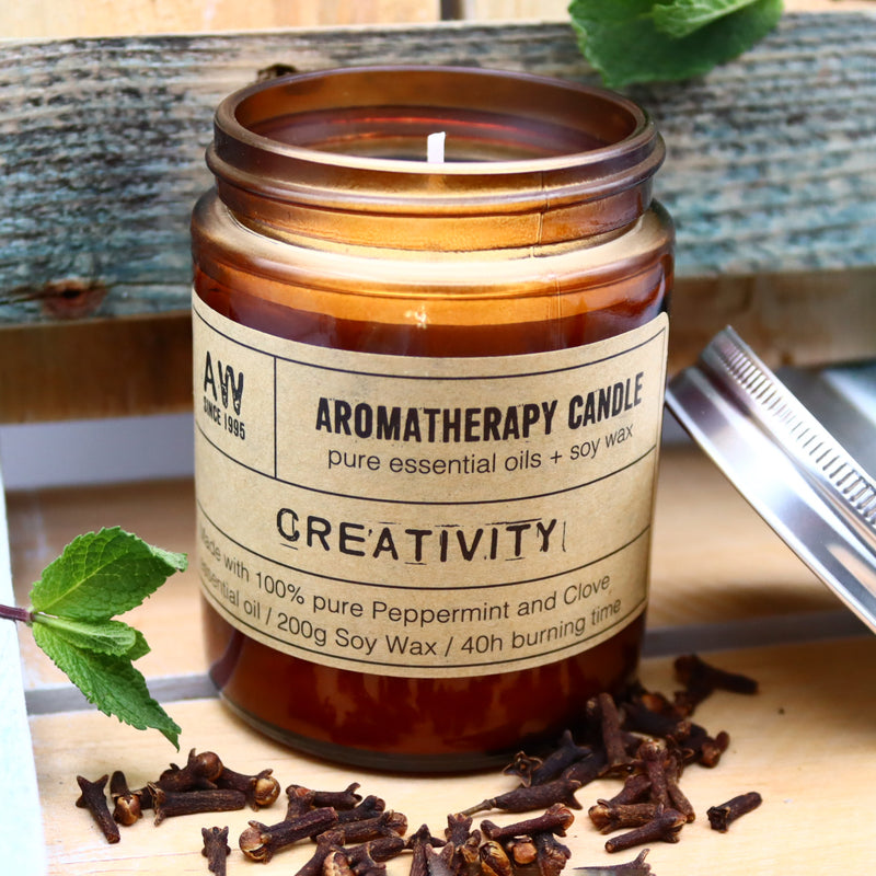 Aromatherapy Soy Candle - Creativity