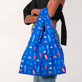 100% Recycled Reusable Tote Bag - London