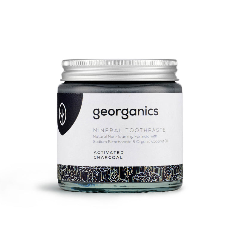 Natural Mineral Toothpaste - Activated Charcoal 120 ml