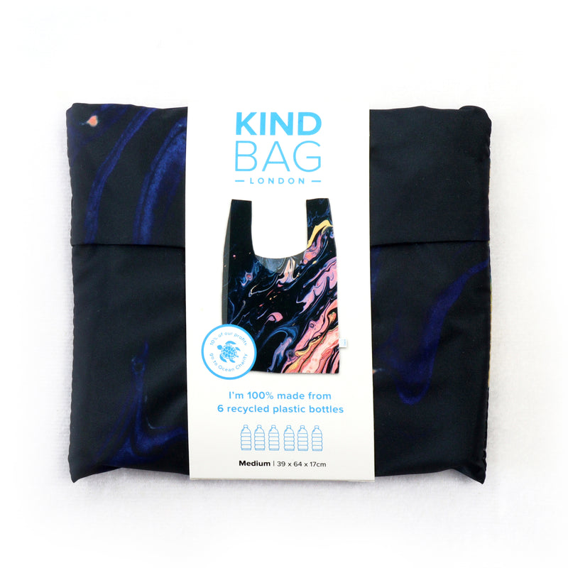 100% Recycled Reusable Tote Bag - Galaxy