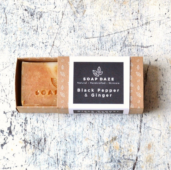 Black Pepper and Ginger Natural Soap