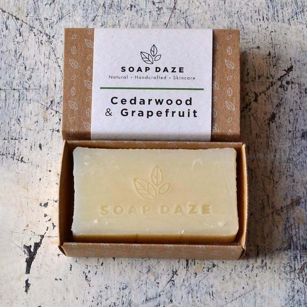 Cedarwood and Grapefruit Handmade Natural Vegan