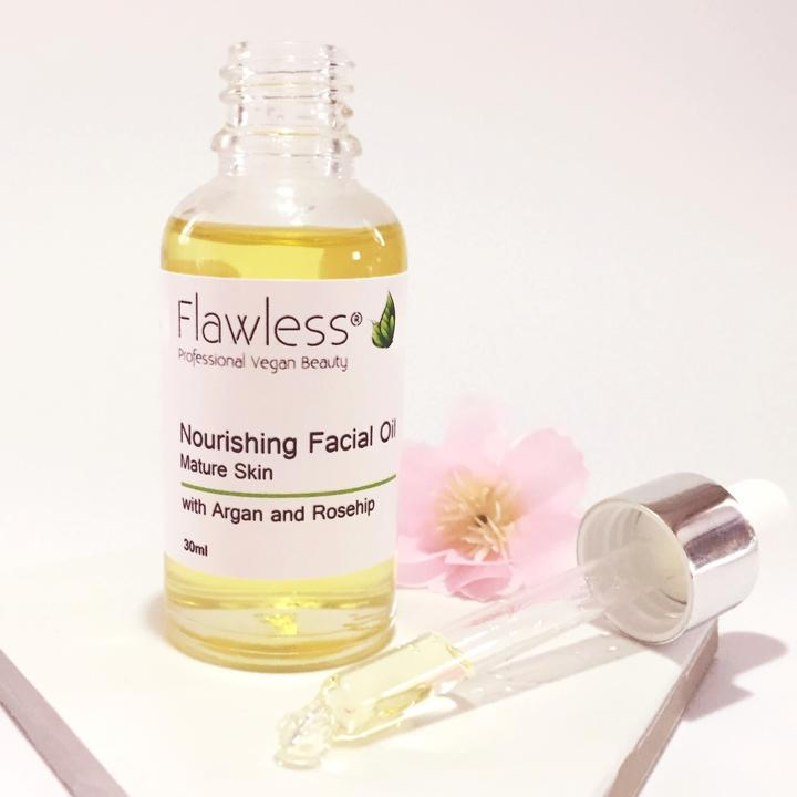 Nourishing Facial Oil with Rosehip, Argan and Neroli -30ml