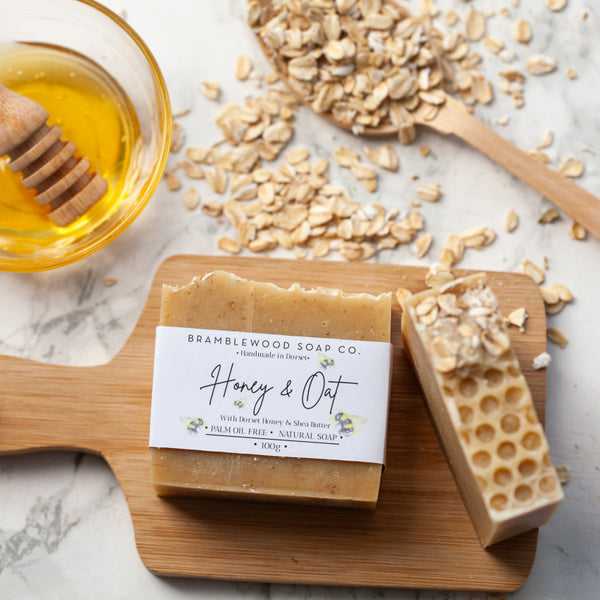 Handmade Dorset Honey & Oat Soap