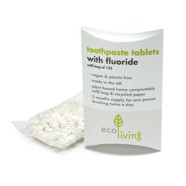 Toothpaste Tablets-  Refill Bag of 125