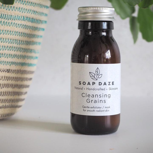 Cleansing Grains Vegan Exfoliator / Mask