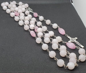 R0004 - XL Rose Quartz Rosary