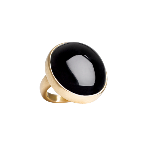 """Big Black Moon"" Ring"