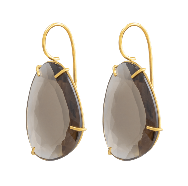 Smoky Quartz Eardrops