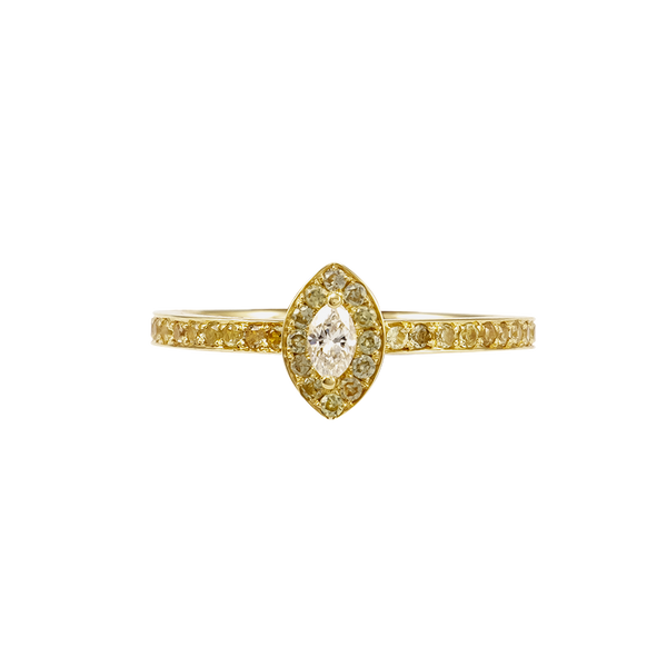 """Yalo"" Diamond Ring"