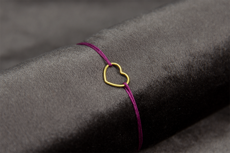 SMALL HEART OF FRIENDSHIP BRACELET