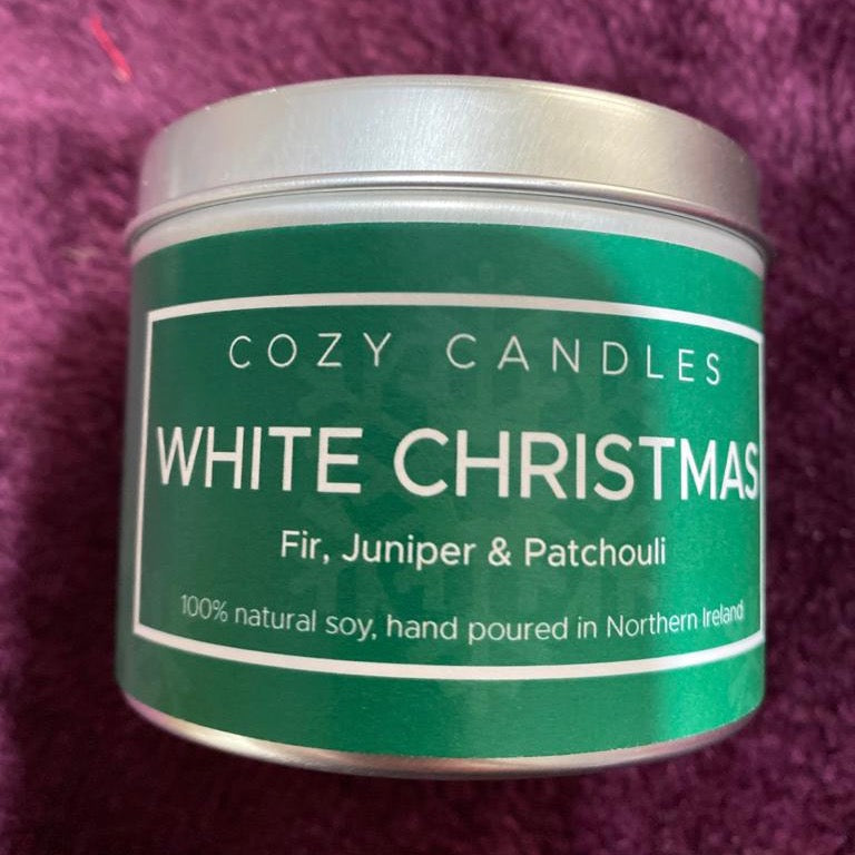Cozy Candles White Christmas