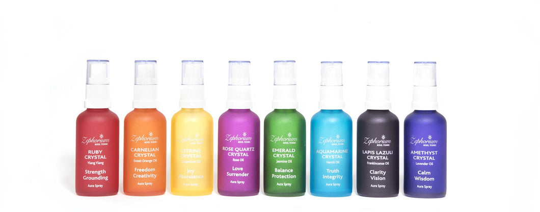 Zephorium Set of 8 Aura Sprays