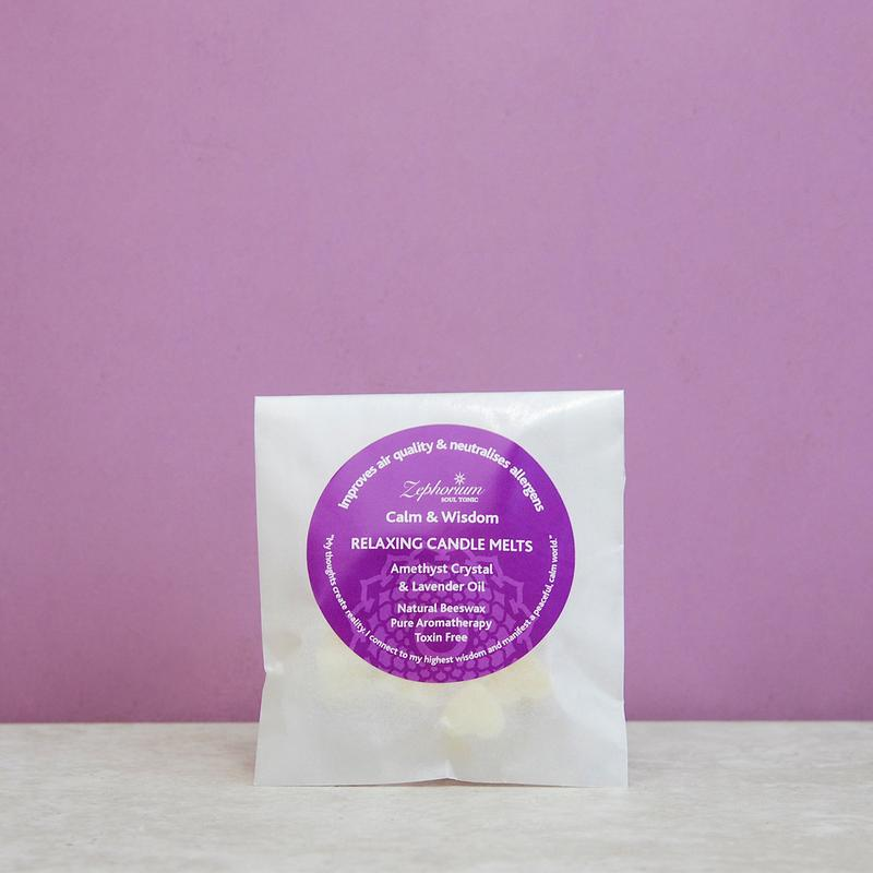 Relaxing Amethyst Candle Wax Melts