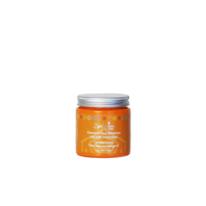 Vitamin A Crystal Infused Organic Exfoliating Clay Face Mask
