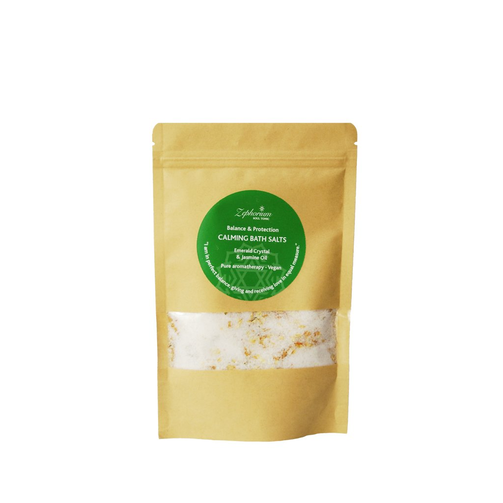 Calming Emerald Bath Salts