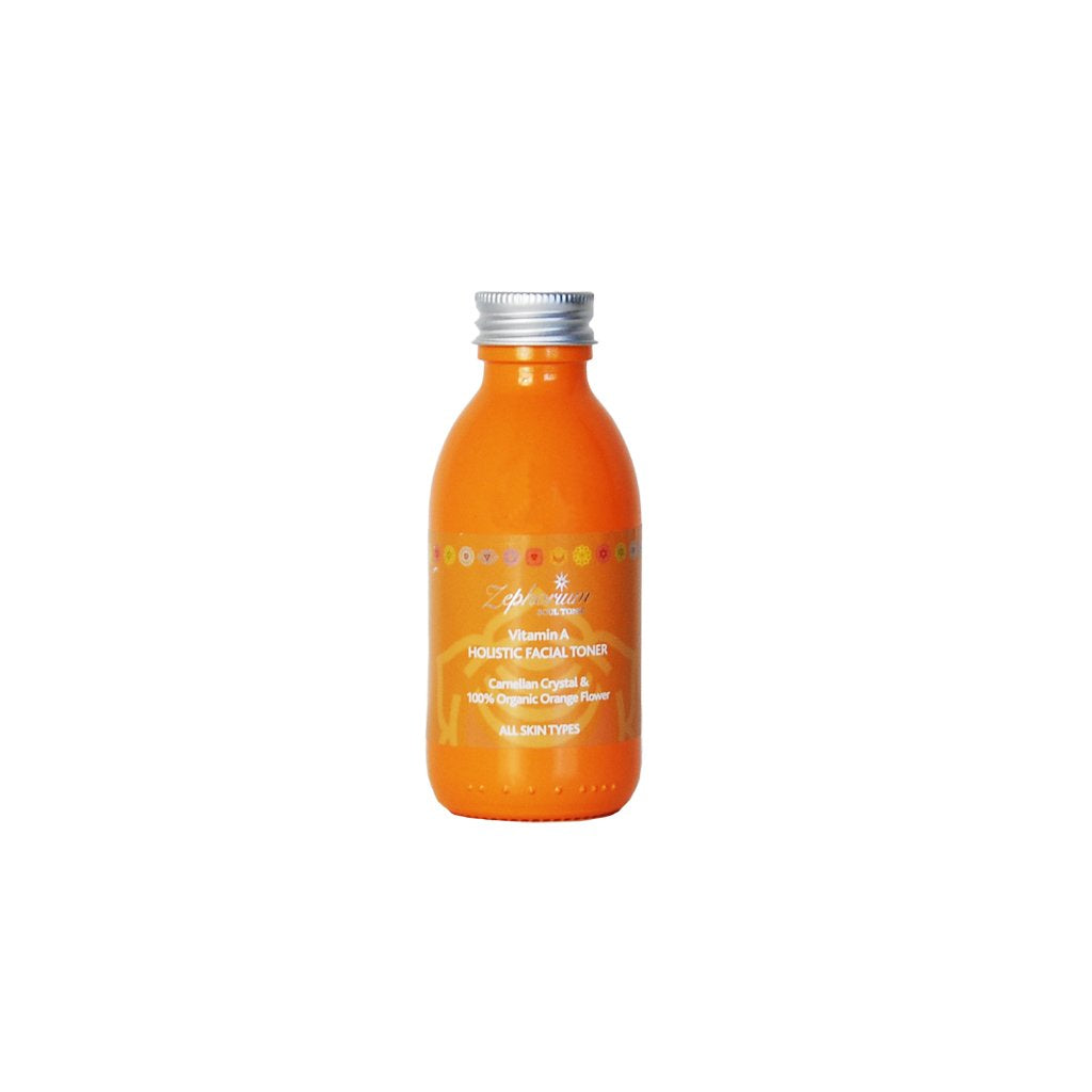 Vitamin A Crystal Infused Organic Orange Flower Facial Toner