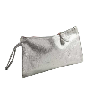 Karaja Silver Make Up Bag (empty)