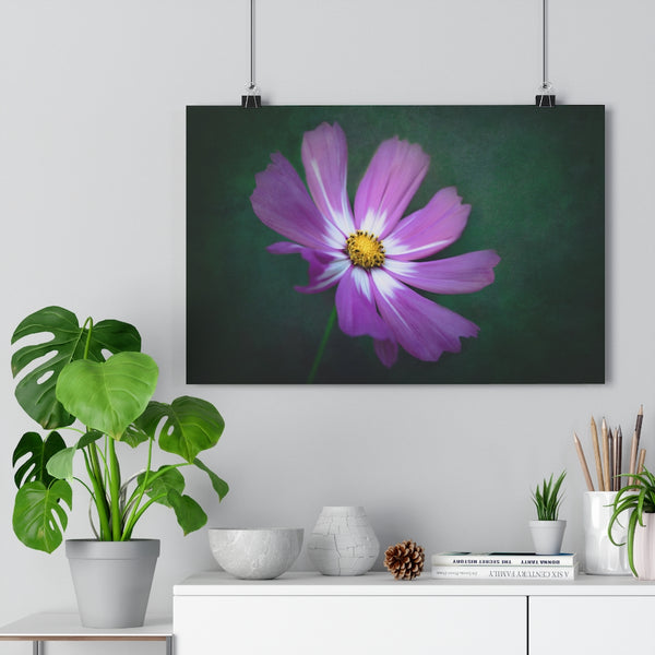 Deep Woods Cosmo Floral Wall Art | Giclée Art Print
