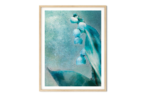 Lily of the Valley Floral Watercolor Wall Art - Giclée Art Print