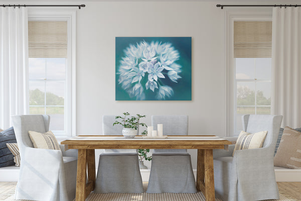 Graceful Allium Wall Art - Giclée Art Print