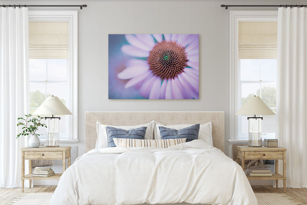 Echinacea Purple Coneflower Fine Art Giclée Print - Dream in Color Wall Art