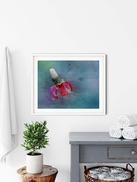 Mexican Hat Watercolor Floral Wall Art - Giclée Fine Art Print