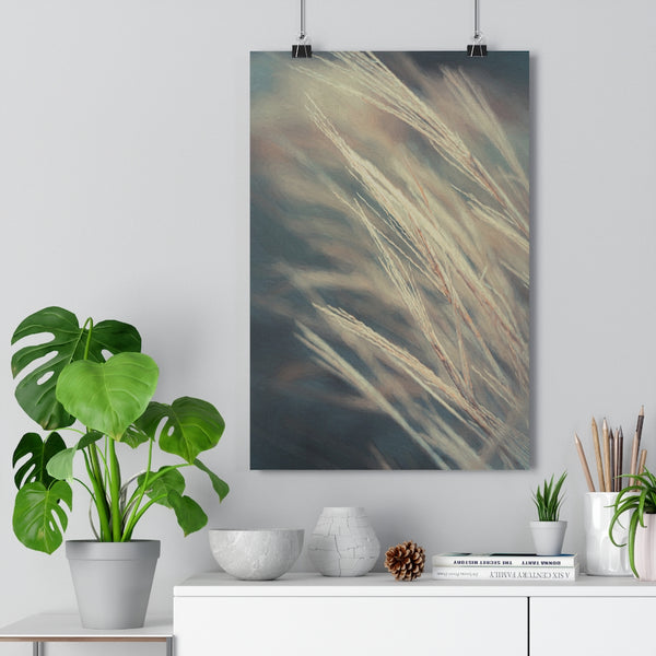 Tall Grasses Botanical Wall Art - Giclée Art Print