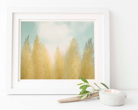 Pampas Grass Botanical Painting #7 Wall Art | Giclée Art Print