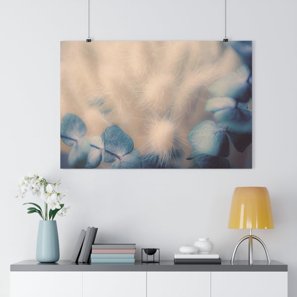 Eucalyptus and Dried Grasses Botanical Wall Art - Giclée Art Print