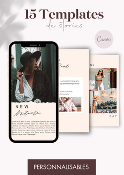 15 Templates de Stories - Craft