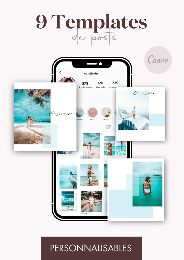 9 Templates de posts - Lagoon