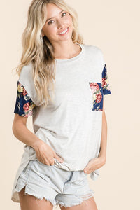 Savanna Floral Top