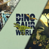 Panneau jersey dino world  stoffabric